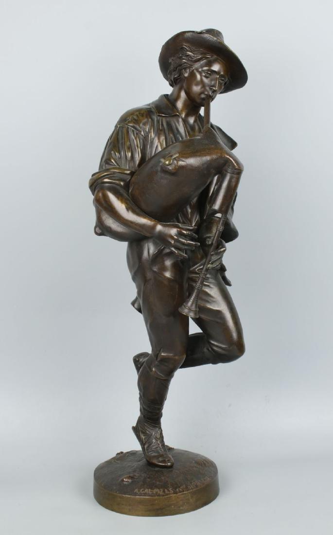 Celestin Anatole Calmels (french, 1822-1906) Bronze
