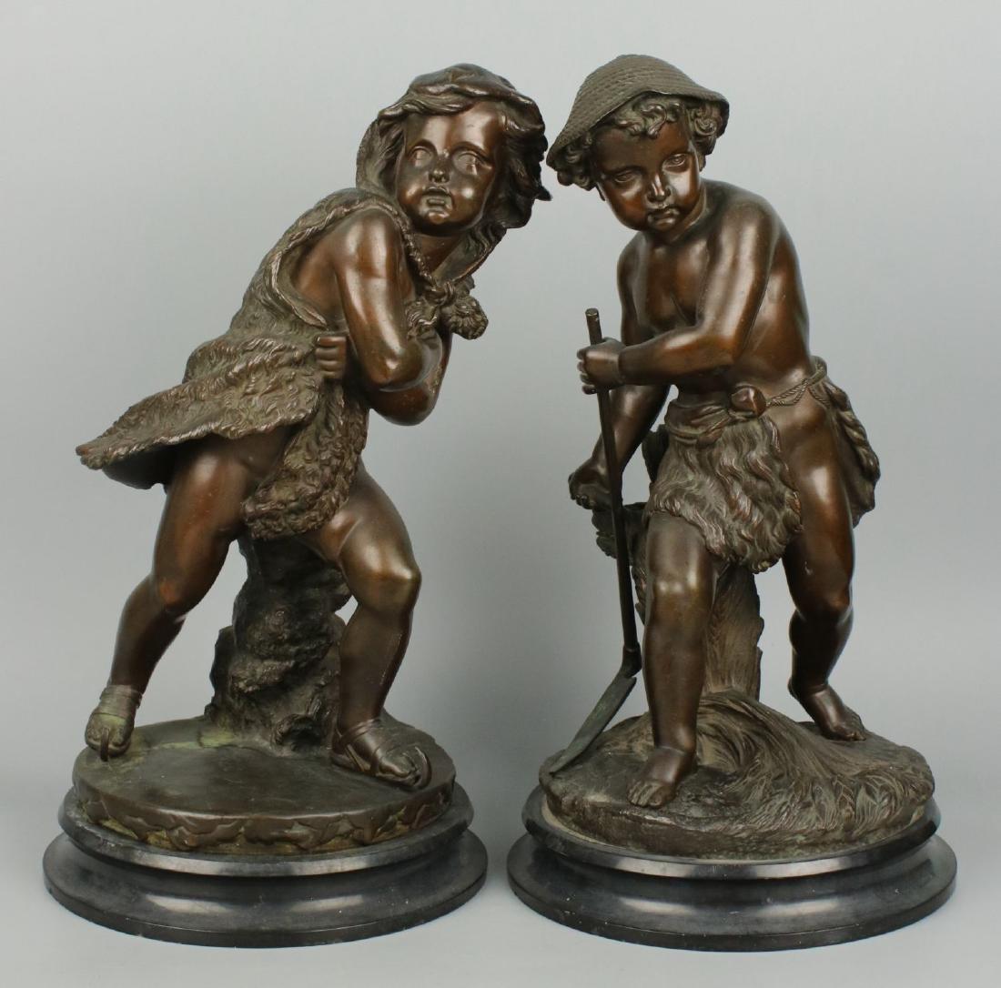 Eugene Laurent (french,1832-1898) bronzes