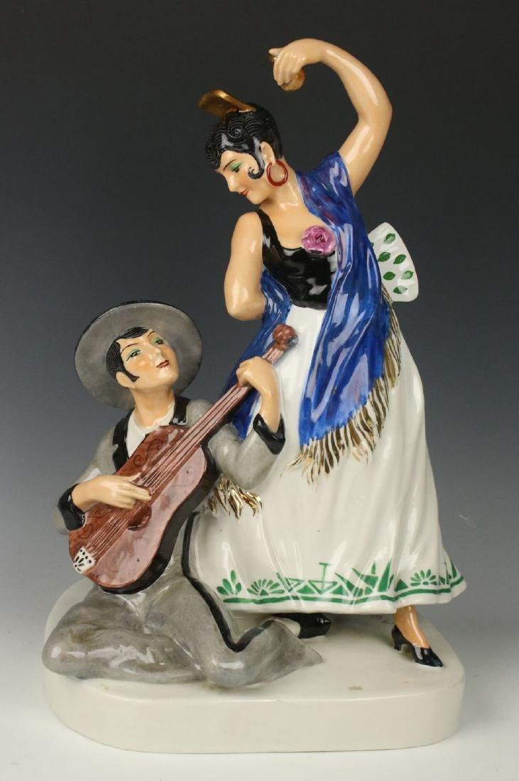 Etling Editions Armand Godard french art deco figurine