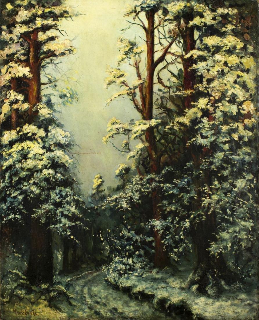 Sam Markitante (CA,France,Russia,1887-1975) oil on