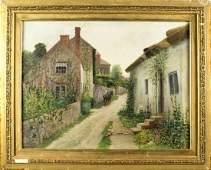 Robert Van Boskerck (New York, 1855-1932) oil on canvas