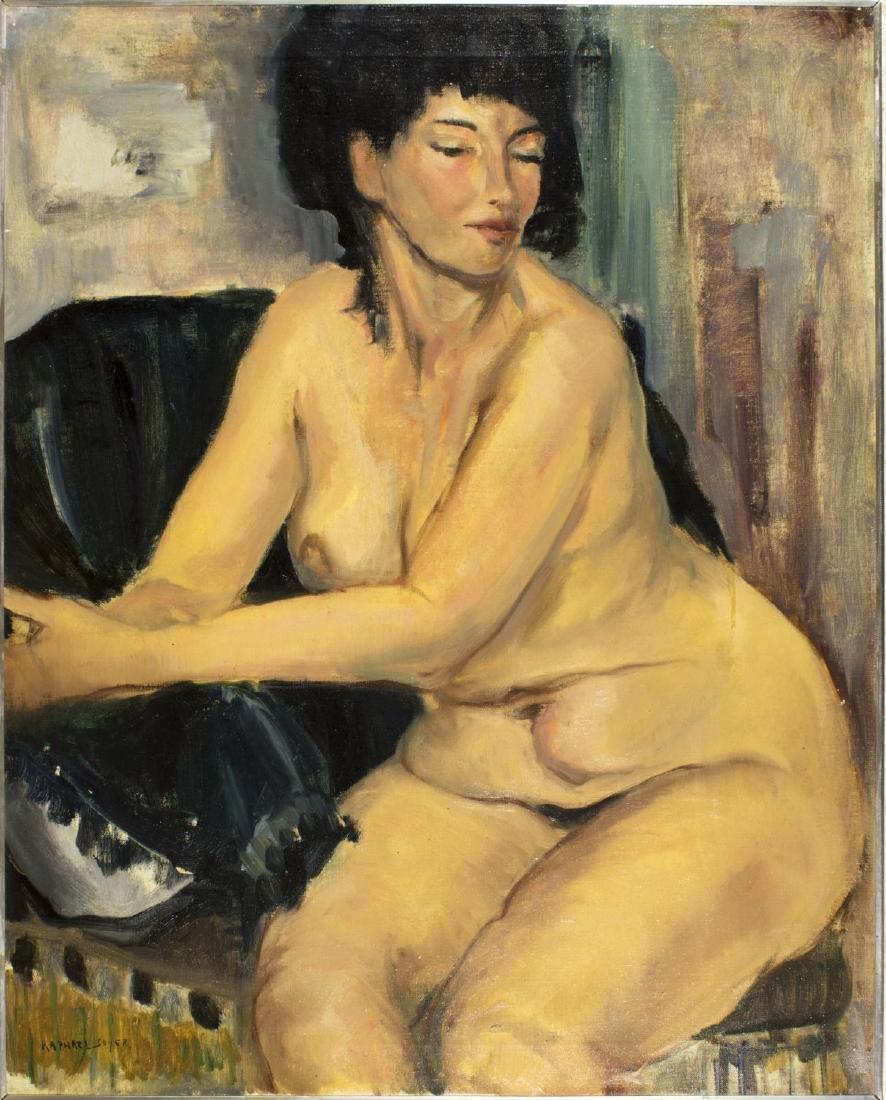 Raphael Soyer (New York, 1899-1987) oil on canvas