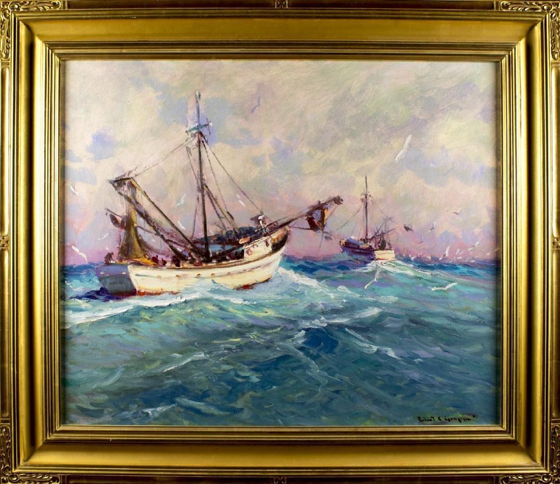 Robert Charles Gruppe (MA, born 1944) oil on canvas
