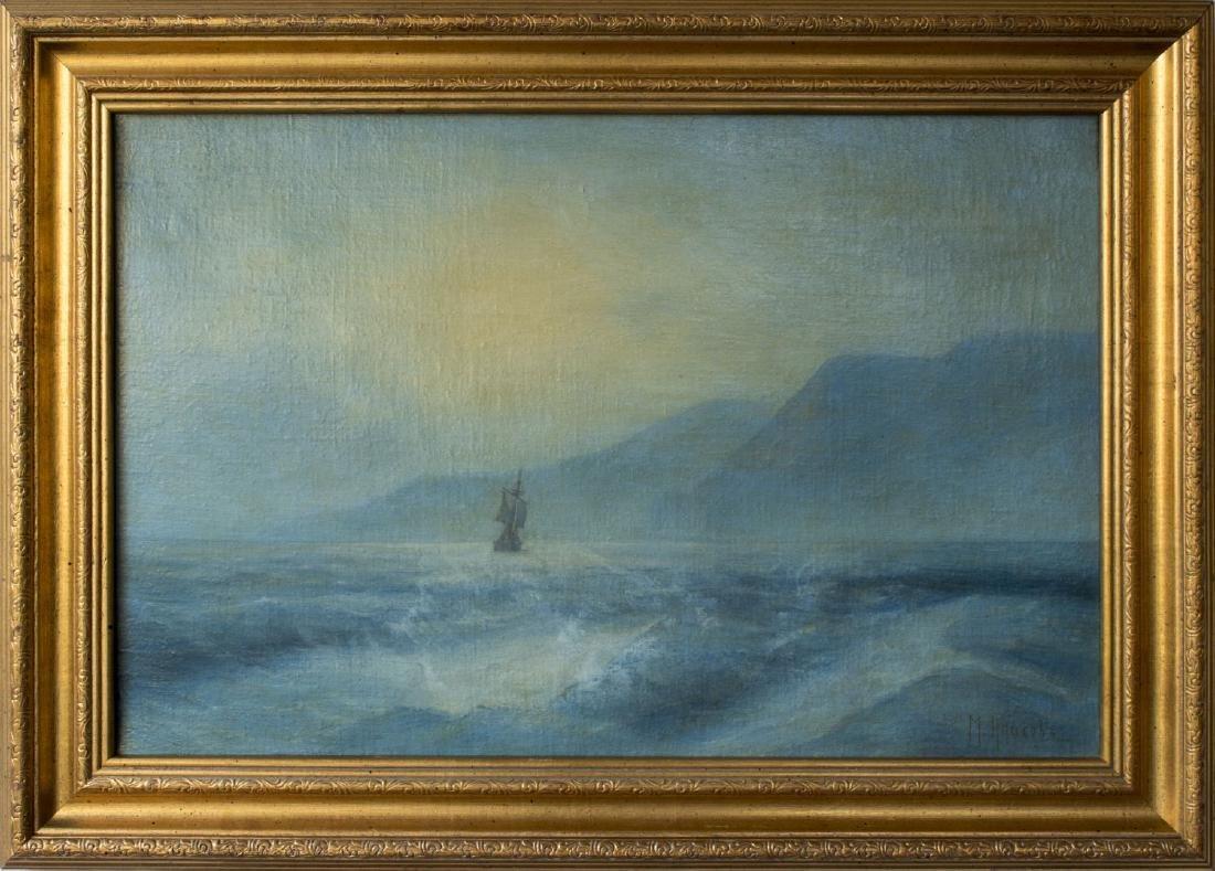 Mikhail Alisov (Russia,1859-1933) oil on canvas