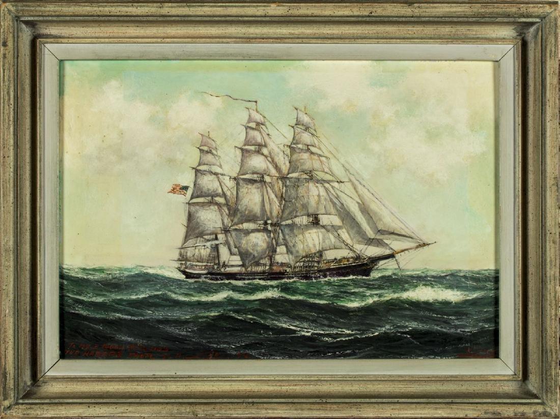 Robert Edmund Lee (Norway,US,1899-1980) oil on board