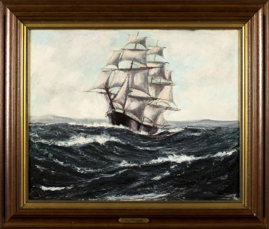 Robert Edmund Lee (Norway, US, 1899 - 1980) oil on
