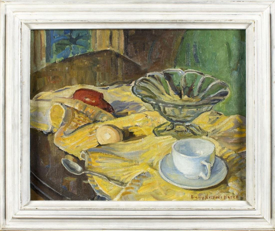 Emily Nichols Hatch (New York, 1871 - 1959) oil on