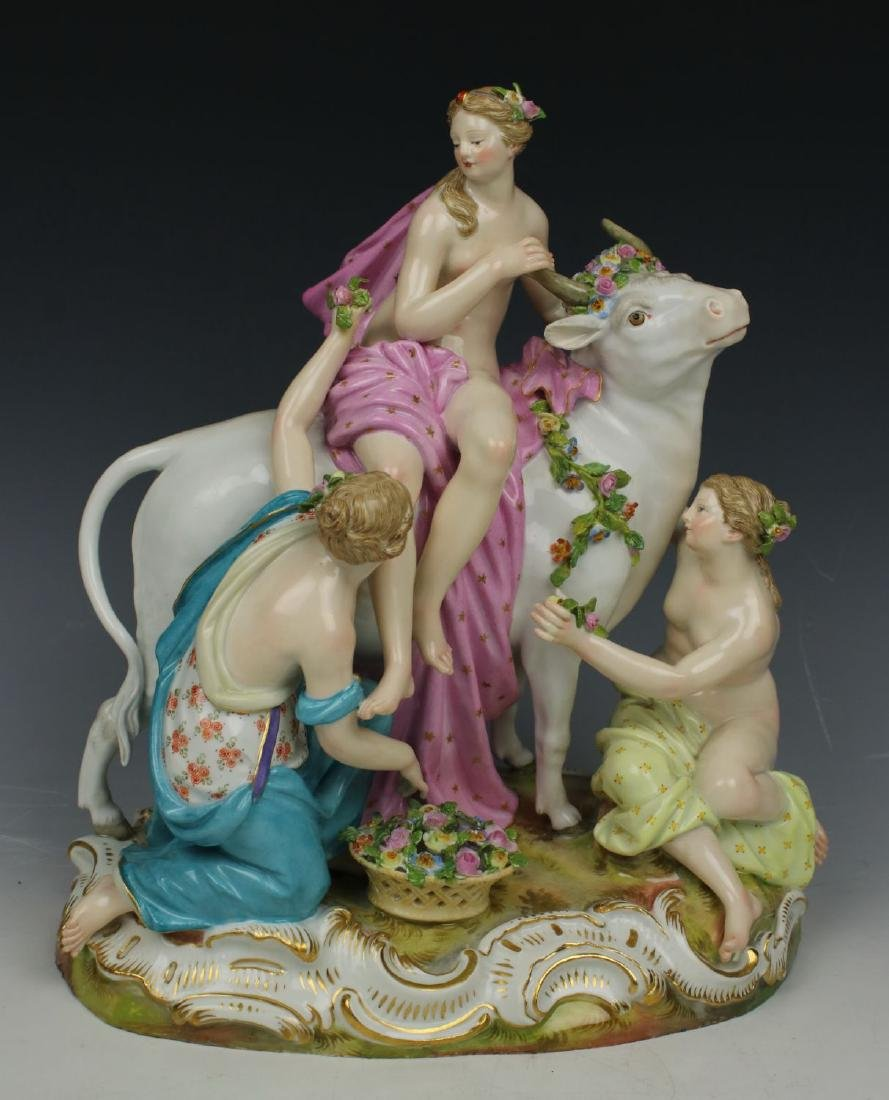"Meissen Figurine ""Europa and Bull"""