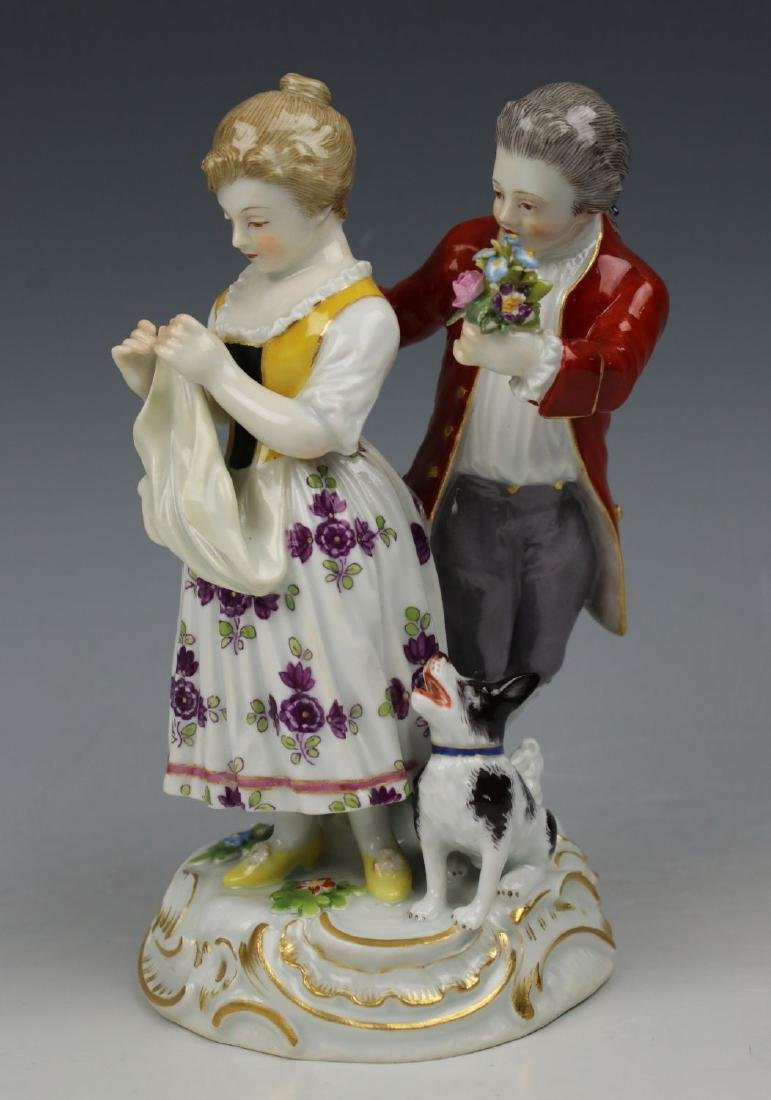 "Meissen Figurine ""Little Stubborn"""