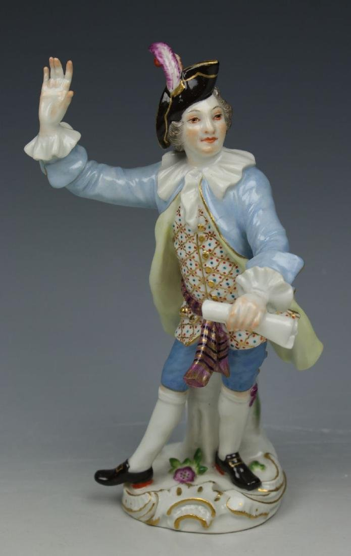 "Meissen Figurine Galante Kapelle ""Conductor"""