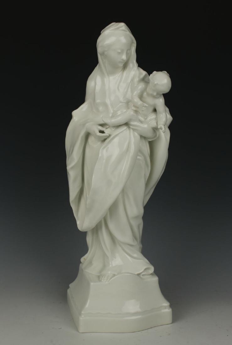 "KPM Berlin Figurine ""Madonna with Child"""