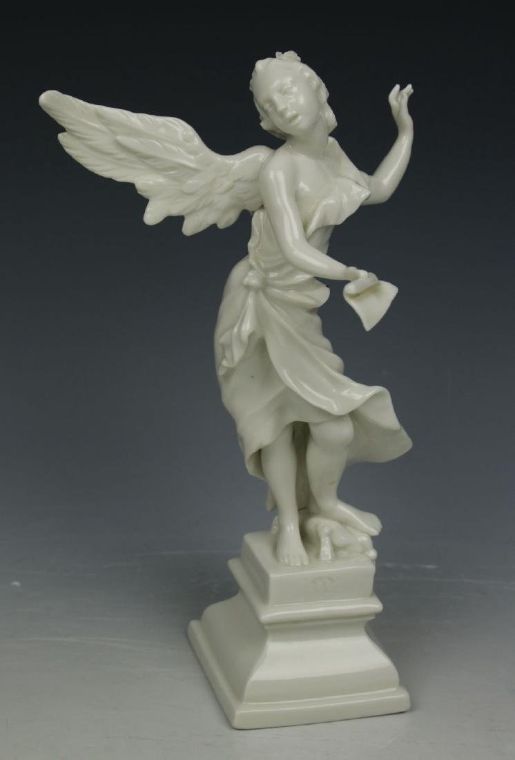 "Nymphenburg figurine ""Angel with Misic Sheet"""