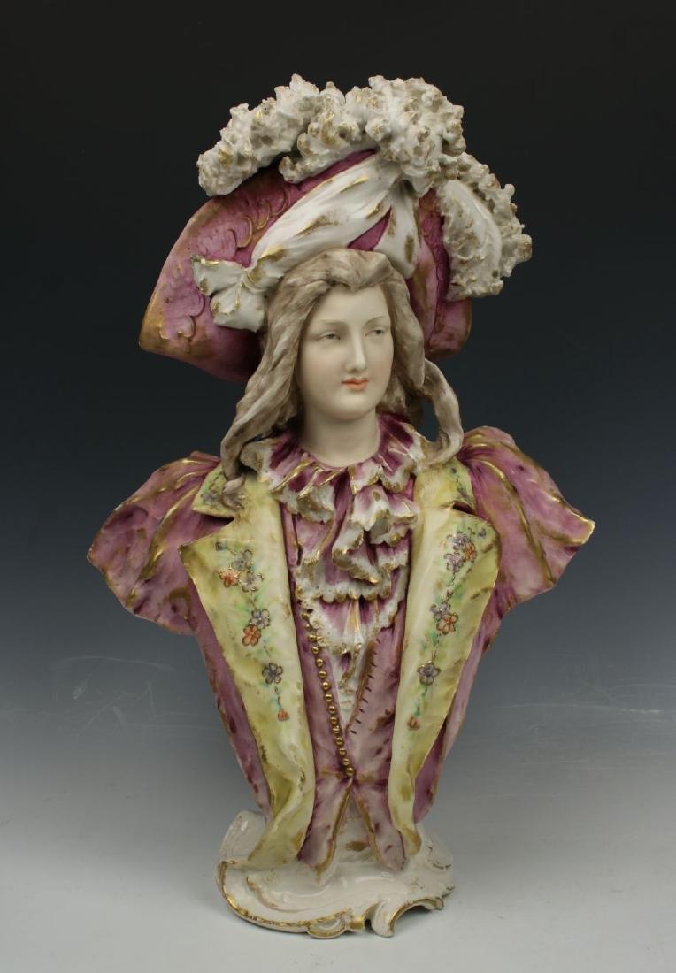 "Amphora Turn Teplitz Figurine 1188 ""Bust of Man"""