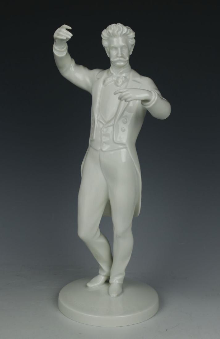 """Augarten Wien Figurine """"Johann Strauss"""""""
