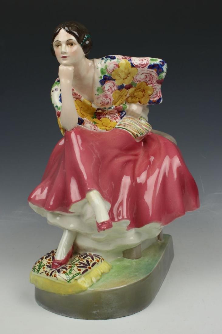 """Goldscheider Wien Figurine """"Carmen"""""""