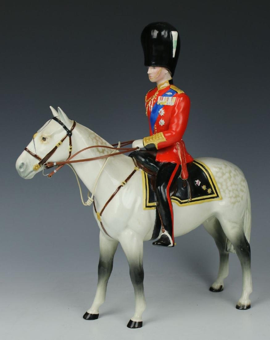 "Beswick Figurine ""HRH Duke of Edinburgh Mounted"""