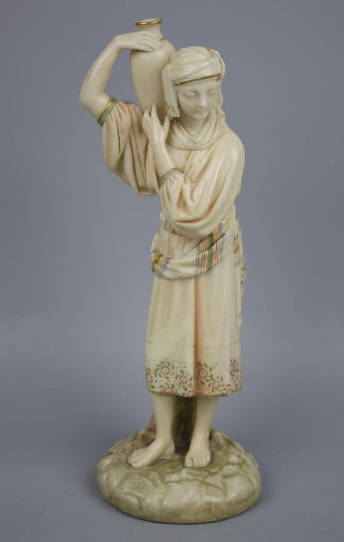 "19C Royal Worcester figurine ""Eastern Water Carrier"""