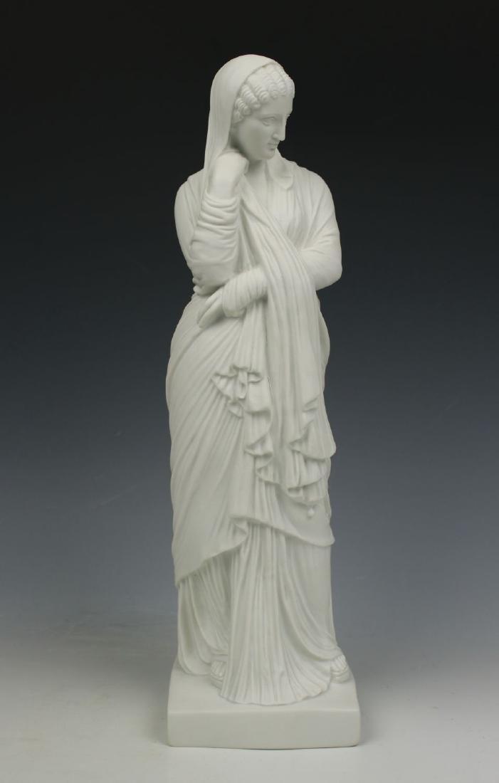 Capodimonte Ginori parian figurine Woman