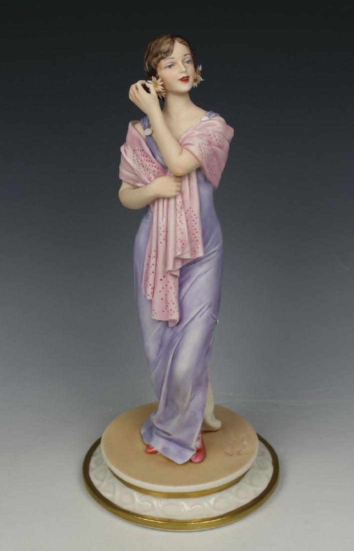 """Capodimonte Sandro Maggioni Figurine """"Mode Liberty"""
