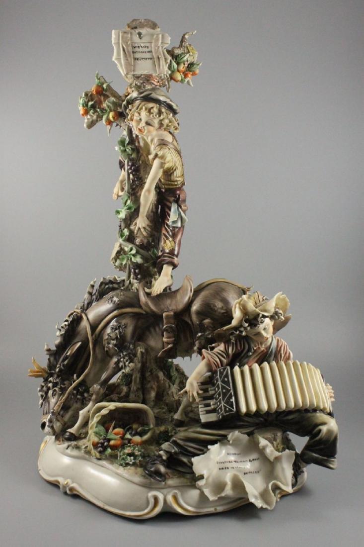 """Capodimonte Tiziano Galli figurine """"Monelli"""""""