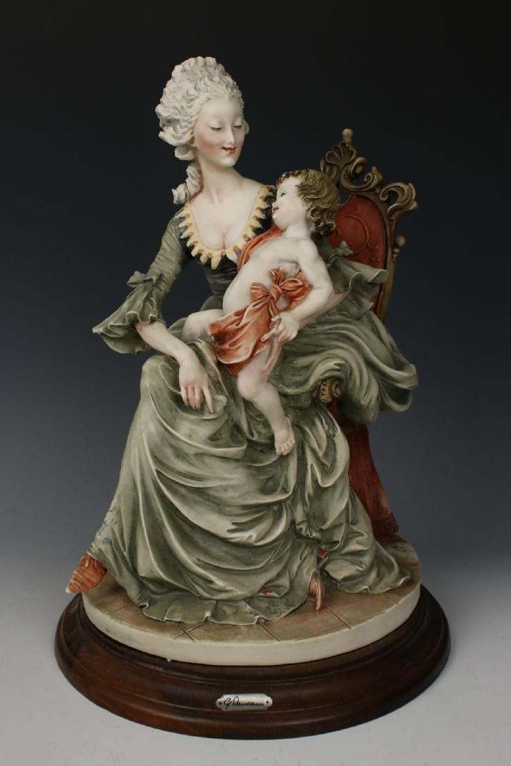 """Giuseppe Armani Figurine """"Lady and Child"""""""