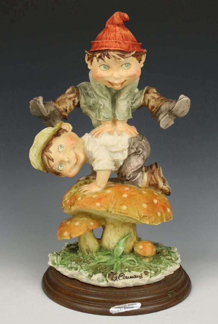 "Giuseppe Armani Figurine Gulliver's World  ""Jumping"