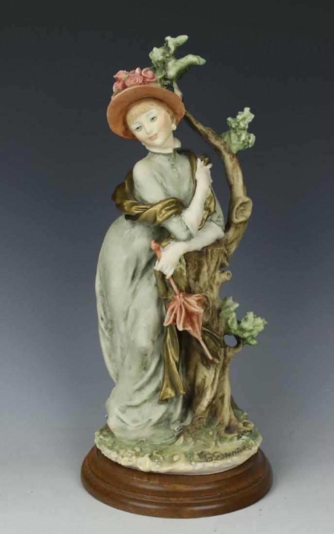 "Giuseppe Armani Figurine ""Lady with Parasol"""
