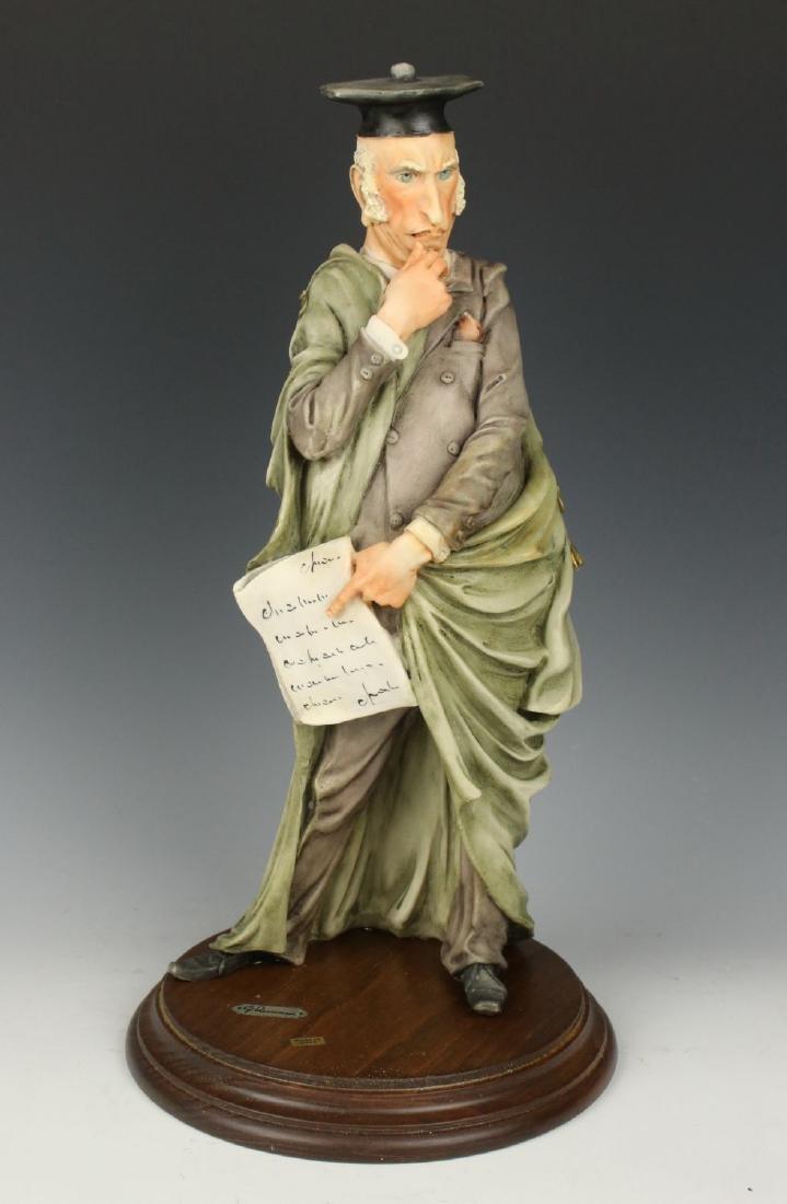 "Giuseppe Armani Figurine ""Professor"""