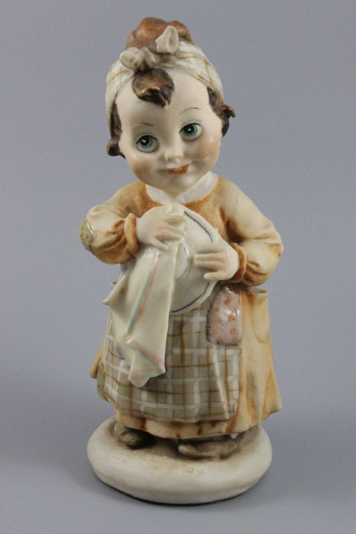 Giuseppe Armani Figurine Do you like washing dishes
