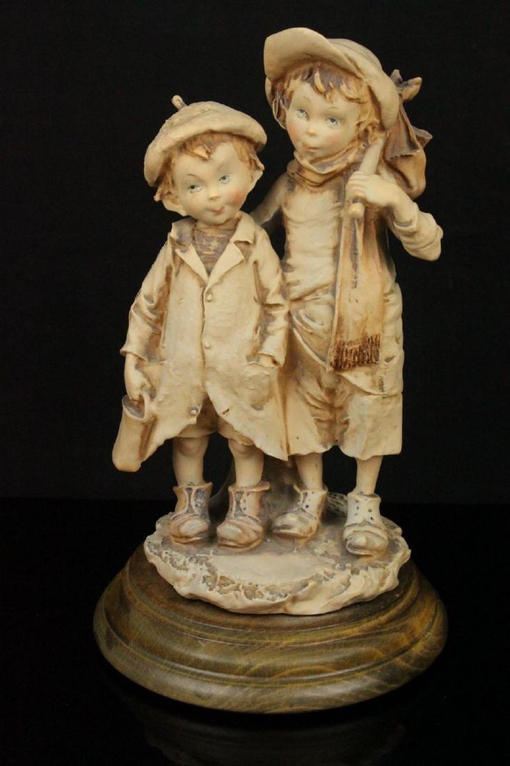 """Giuseppe Armani Figurine """"Runaways"""""""