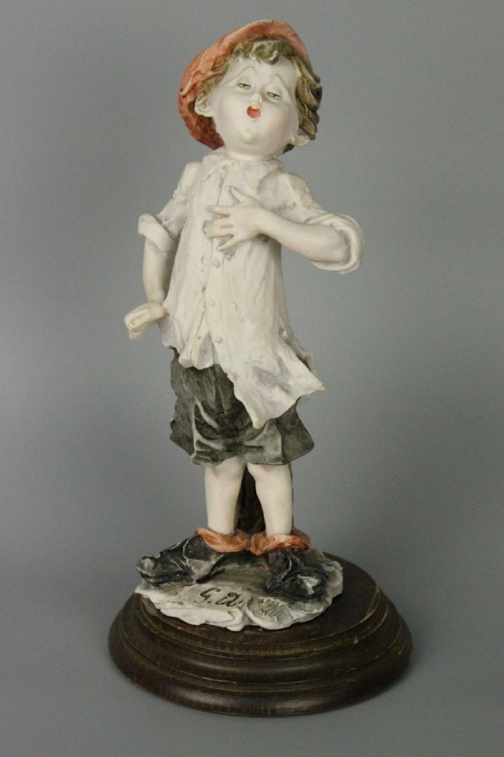 Giuseppe Armani Figurine Boy Singing