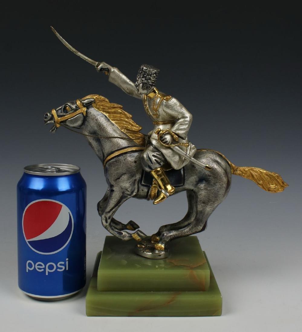 Giuseppe Vasari Bronze & 22K Gold figurine - 10