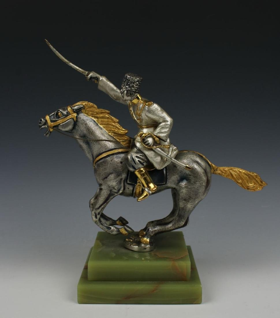 Giuseppe Vasari Bronze & 22K Gold figurine