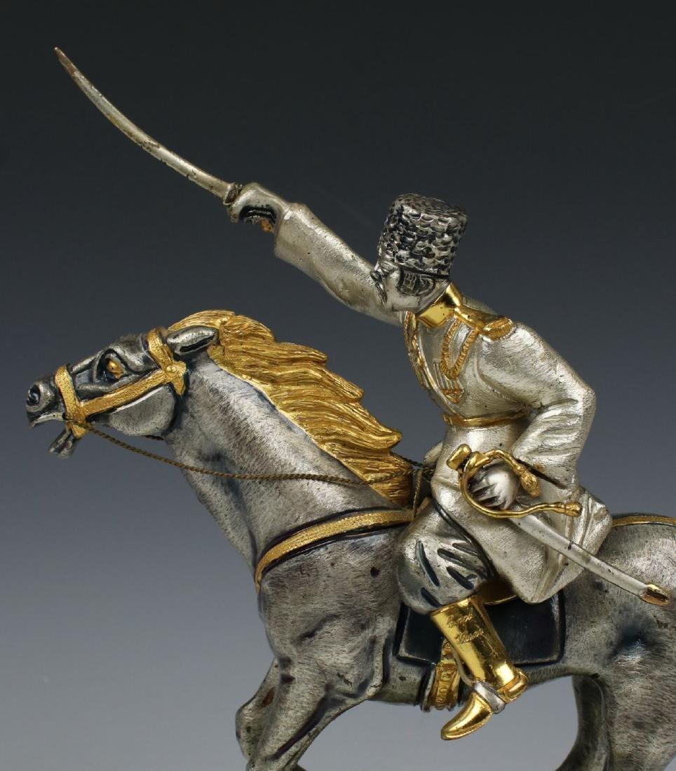 Giuseppe Vasari Bronze & 22K Gold figurine - 7