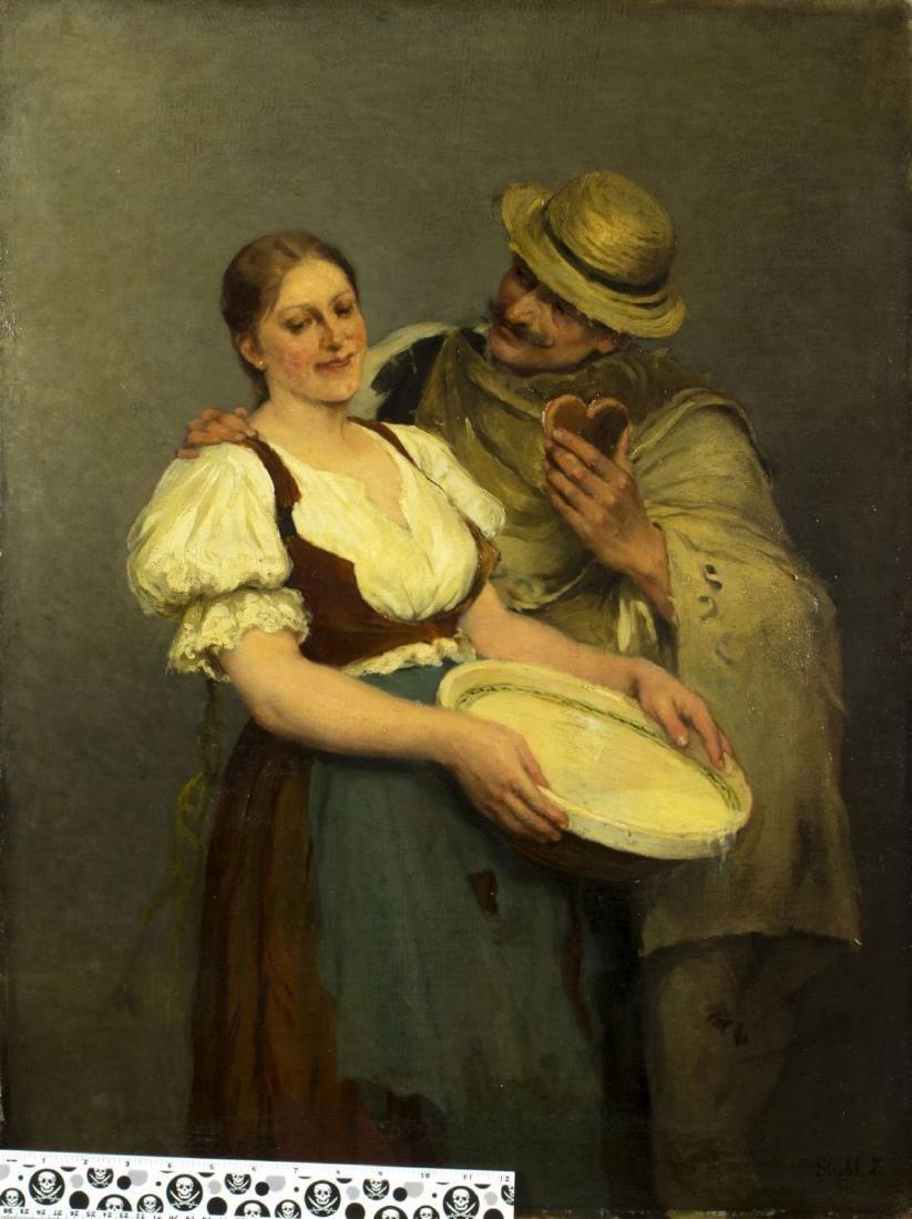 Zsofia Strobl (Hungary,born 1866) oil on canvas - 2