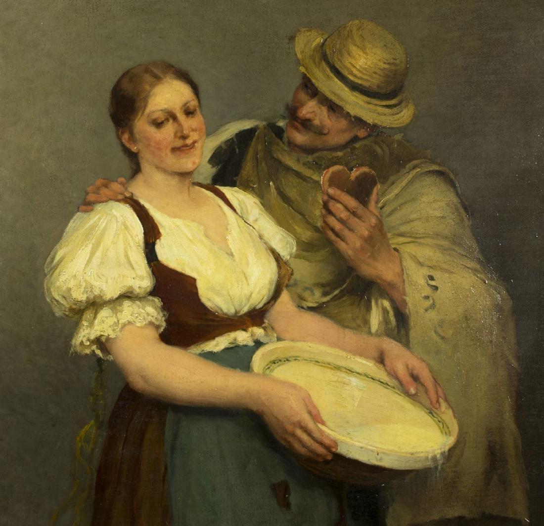 Zsofia Strobl (Hungary,born 1866) oil on canvas - 3
