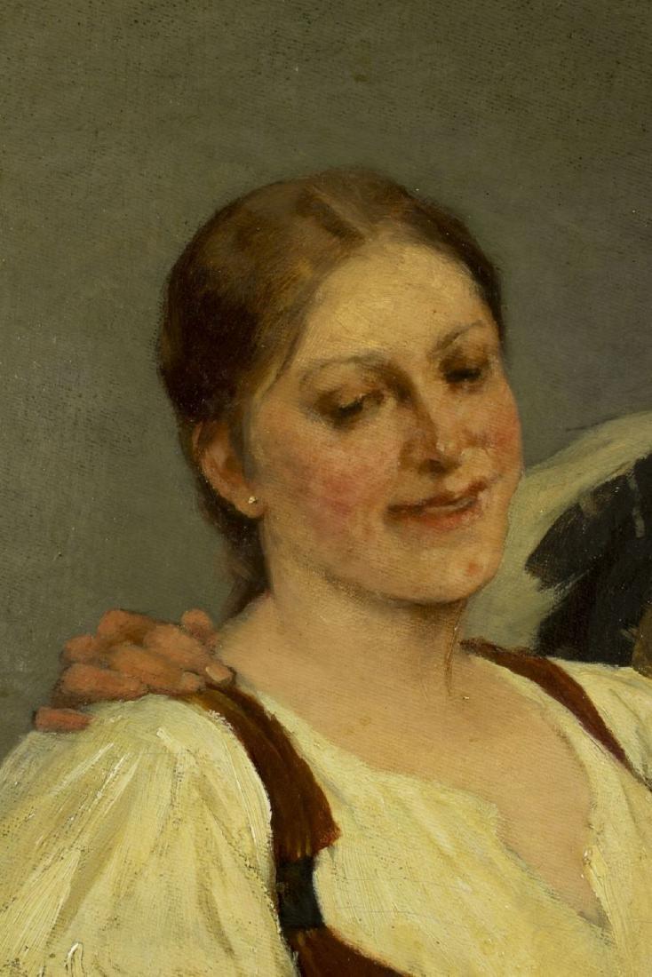 Zsofia Strobl (Hungary,born 1866) oil on canvas - 5