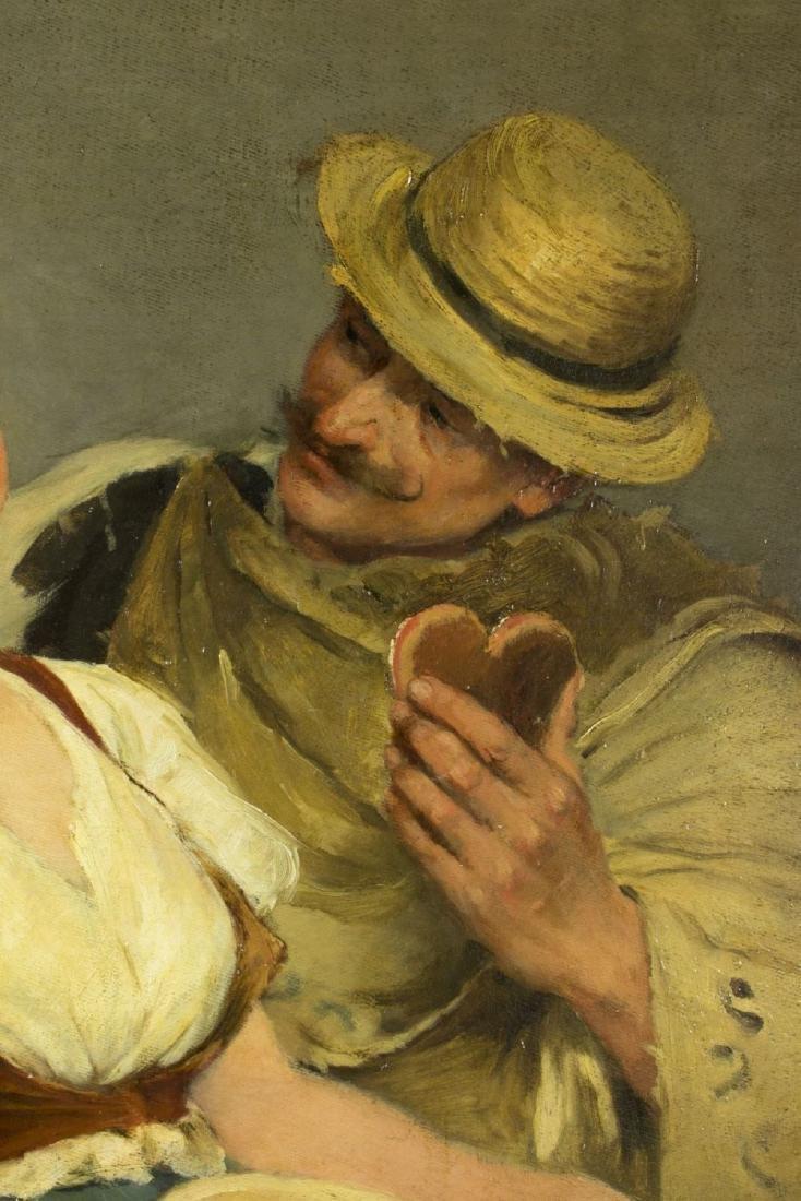 Zsofia Strobl (Hungary,born 1866) oil on canvas - 6