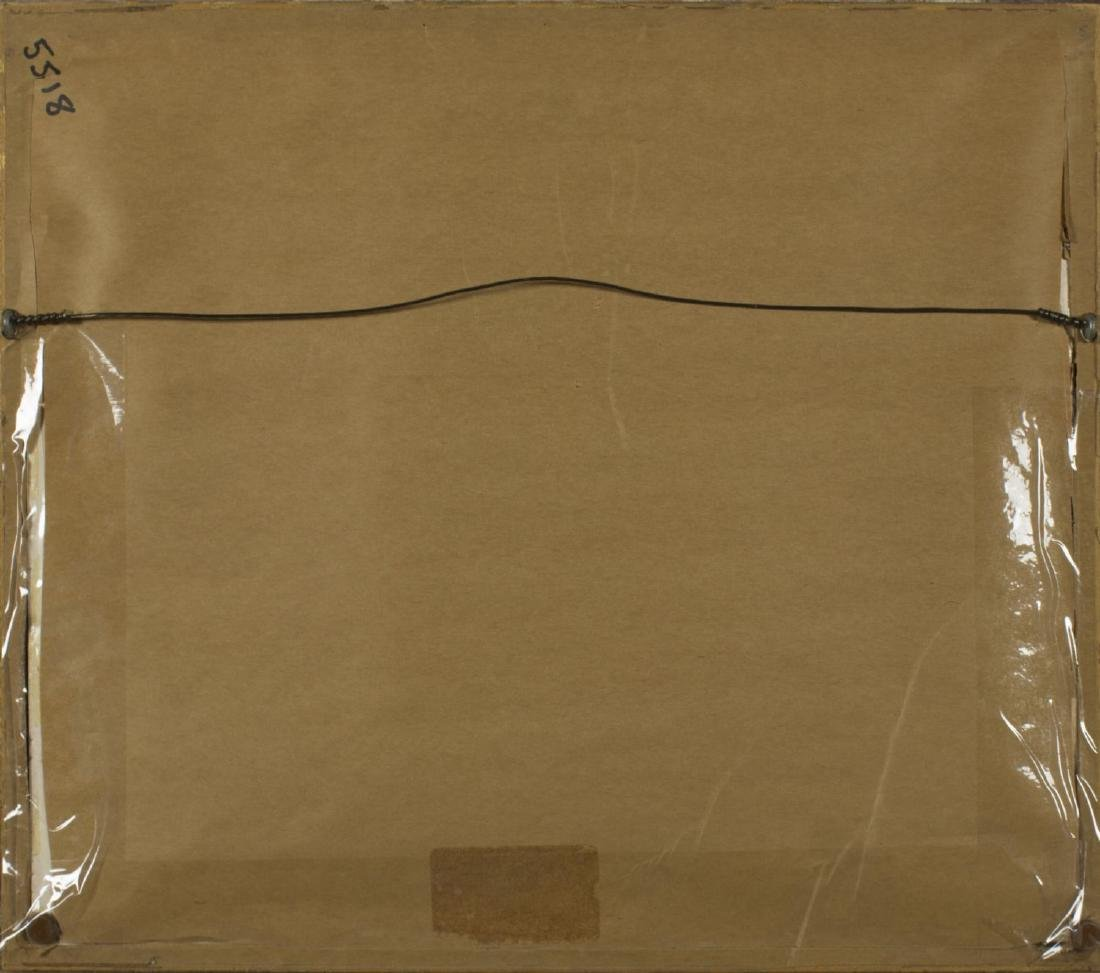 Josef Plank (Austria,born 1900) watercolor on silk - 10