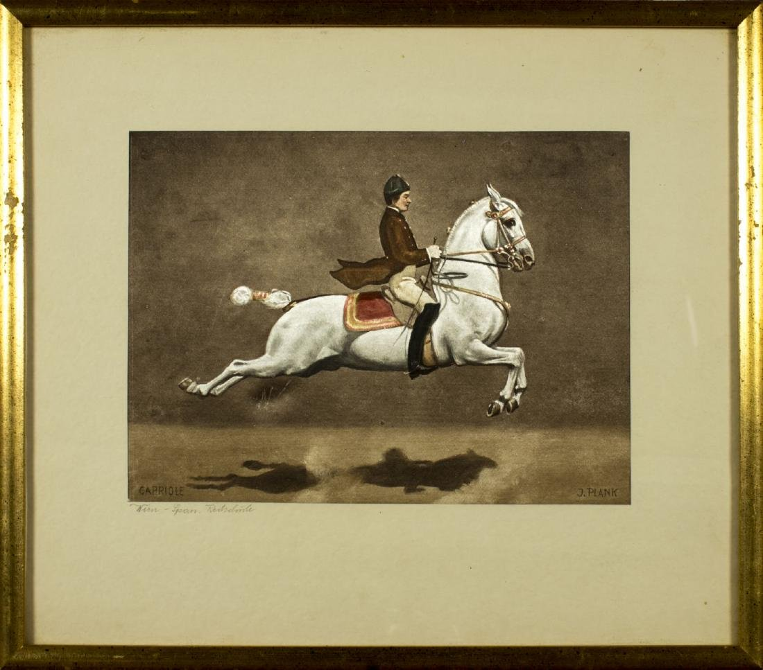 Josef Plank (Austria,born 1900) watercolor on silk
