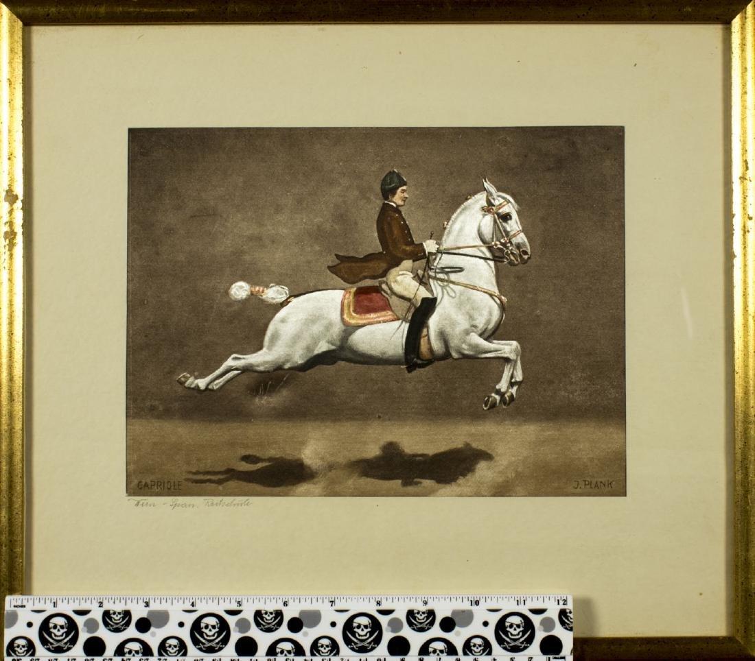 Josef Plank (Austria,born 1900) watercolor on silk - 2
