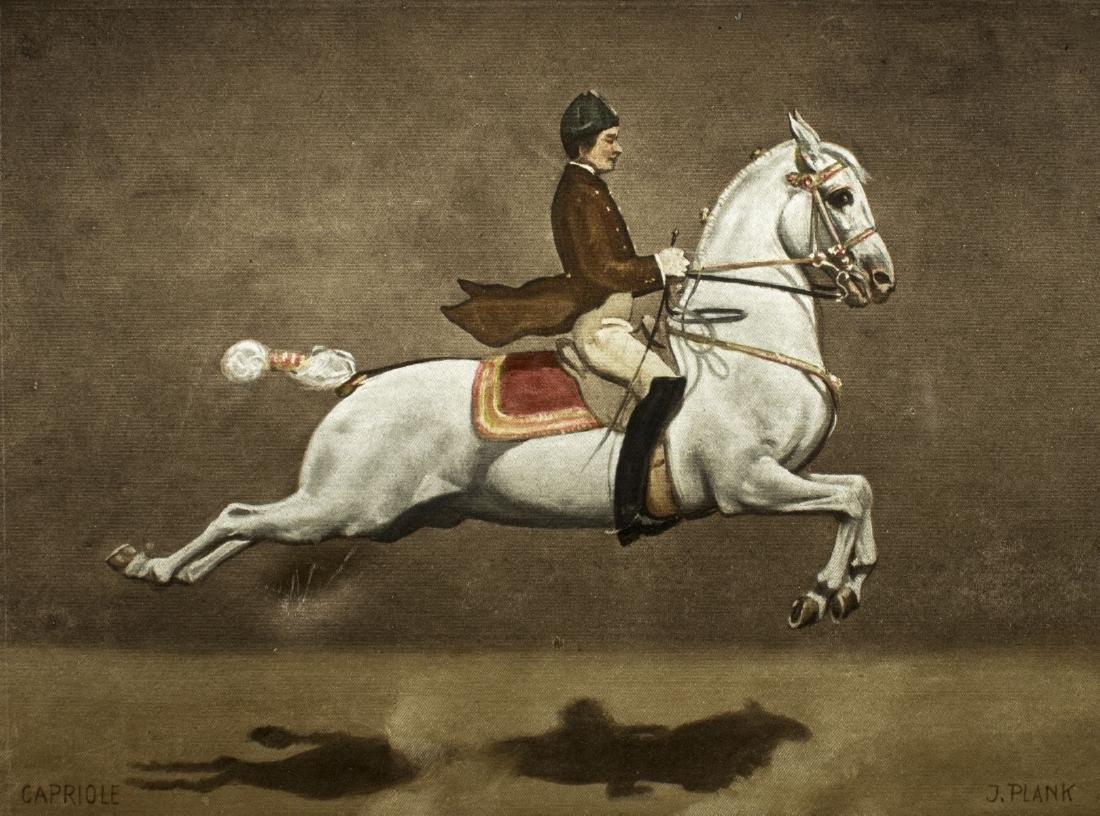Josef Plank (Austria,born 1900) watercolor on silk - 3