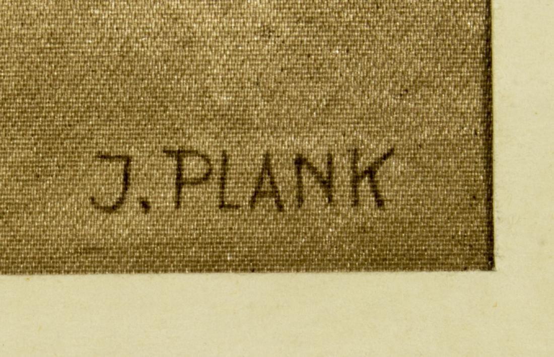 Josef Plank (Austria,born 1900) watercolor on silk - 5