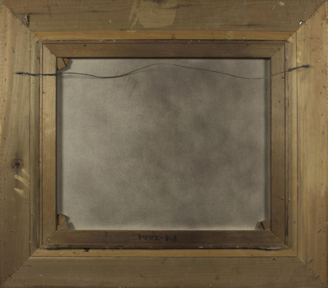 D Tayler (MA,20th century) oil on canvas - 7