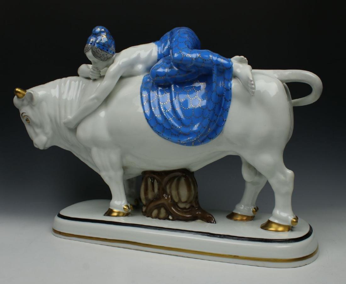 "20"" Frareuth Figurine ""Europa and Bull"" - 5"