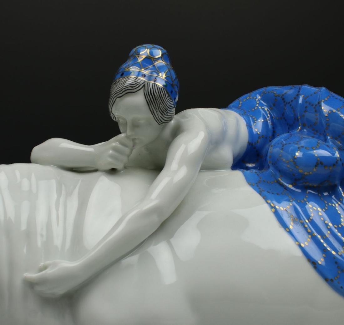 "20"" Frareuth Figurine ""Europa and Bull"" - 7"