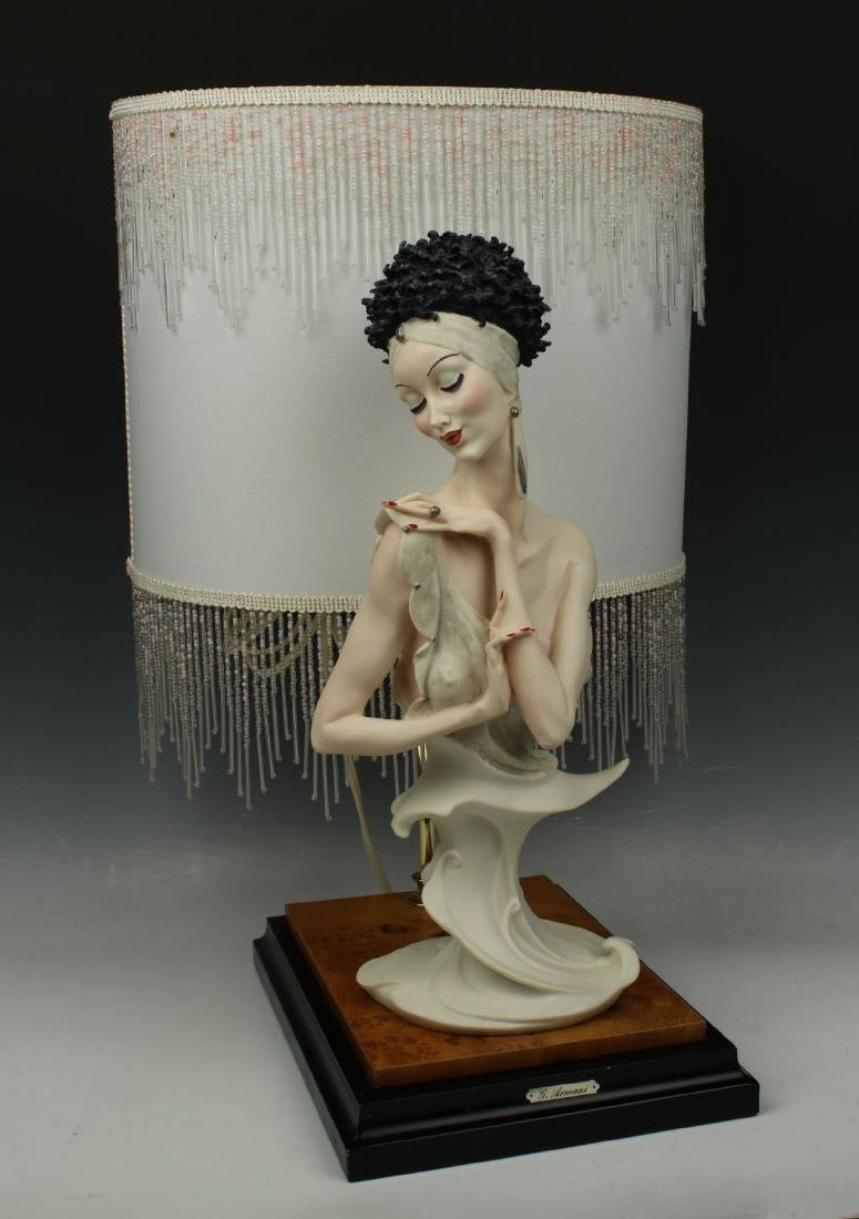 "Giuseppe Armani Figurine Lamp ""Fascination"" - 2"