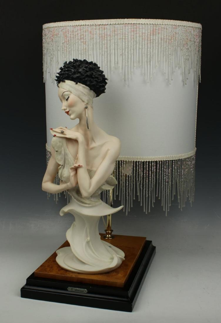 "Giuseppe Armani Figurine Lamp ""Fascination"" - 3"