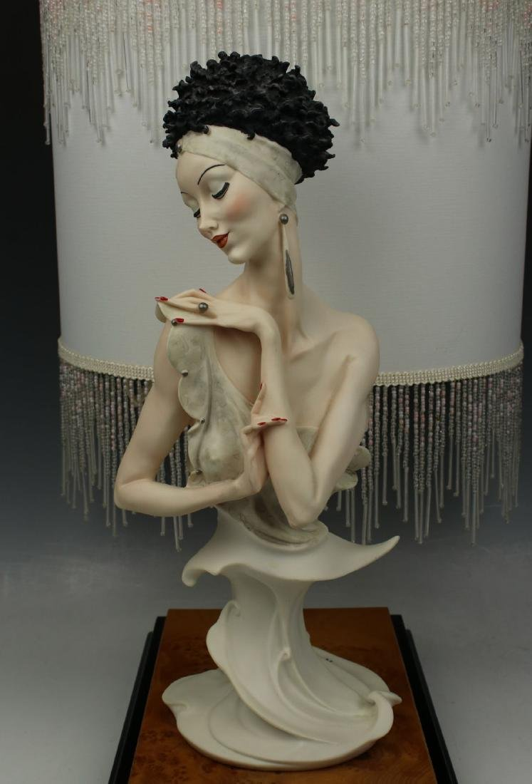 "Giuseppe Armani Figurine Lamp ""Fascination"" - 4"