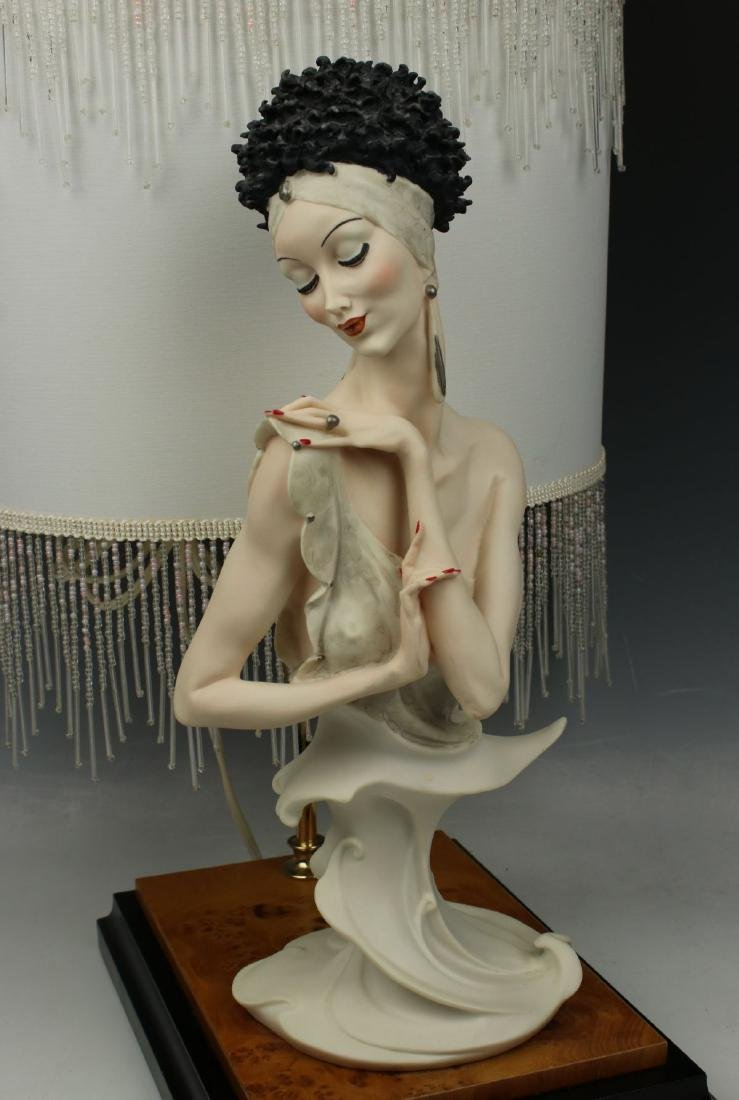 "Giuseppe Armani Figurine Lamp ""Fascination"" - 5"